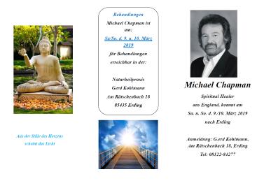 Michael Chapman - Spiritual Healer